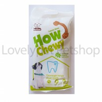 how chewy tubular bone 70g / snack gigitan tulang anjing