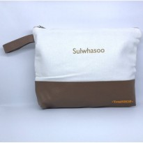 SULWHASOO WHITE BROWN POUCH