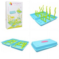 Les Maternelles Portable Bottle Drying Rack/ Rak Botol Bayi
