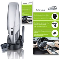 RECHARGEABLE PORTABLE VACUUM CLEANER - TANPA KABEL
