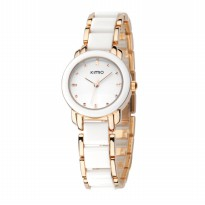 Kimio K455L Ceramic Fashion Watch (Jam Tangan Fesyen Keramik)