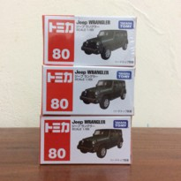 Jeep Wrangler Takara Tomy No 80 Black