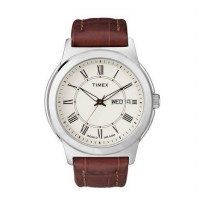 TIMEX Leather T2E581 Brown