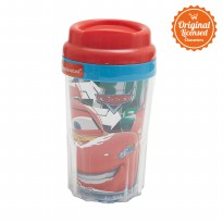 Cars Double Wall Tumbler 425ML Red A