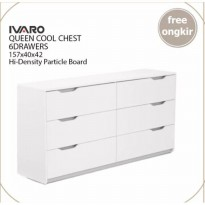 IVARO Queen Cool Chest 6 Drawers