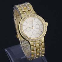 Geneva Diamond Fashion Watch (Jam Tangan Fesyen Berlian - Intan)
