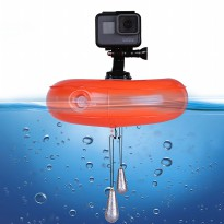Telesin Inflatable Floating Bobber for GoPro Xiaomi Yi SJCam - Orange