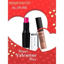 [SALE DUO LIPS] BUY 1 GET 1 FREE NYX Soft Matte Lip Cream FREE Wet n Wild Megalast