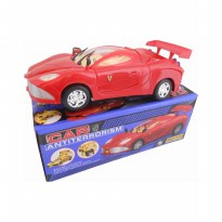 Mainan Mobil Anti Teroris / AntiTerrorism Red Car