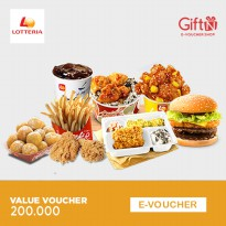 Lotteria Value Voucher 200.000