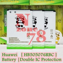 Baterai Huawei y600 Y3 II a199 g710 g700 g610 g610t g610s g716 HB505076RBC Double IC Protection