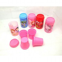 BOTOL + GELAS AIR MUG SET 1023