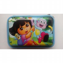 HPO (Hard Pencil Case Organizer/Tempat Pensil) model Smiggle - Dora