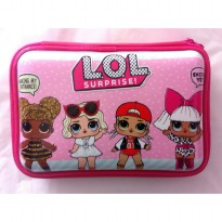 HPO (Hard Pencil Case Organizer/Tempat Pensil) model Smiggle - LOL