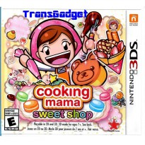 [Nintendo 3DS] Cooking Mama 5: Sweet Shop
