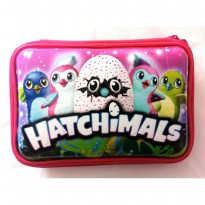 HPO (Hard Pencil Case Organizer/Tempat Pensil) model Smiggle - Hatchimals