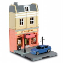 RMZ 1:64 European House With Die Cast - Book Store