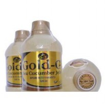 Paket 3 biji 1 kg Jelly Gamat Gold G 320 ml Original