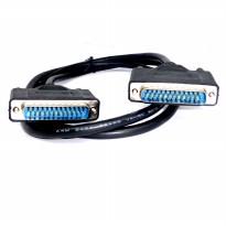 Kabel Serial DB25 Pin LPT Paralel Male to Male 1,5 Meter