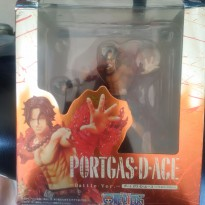 One Piece Portgas D'Ace Battle Version KW Bandai
