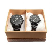 Fortuner Fr X099087 Couple Watch Black