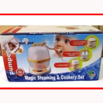 PUMPEE MAGIC STEAMING AND COOKERY SET BPA FREE - BEST PRODUCT