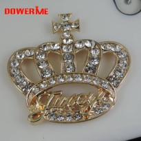 [globalbuy] DOWER ME brand Crystal Crown DIY Decoration 3D Mobile Phone Decorations 3D All/5424970