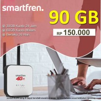 Smartfren Data Super 4G Kuota 90GB 30Hari