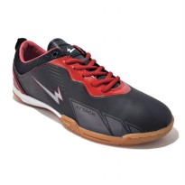 Eagle Barracuda Sepatu Futsal Black Red