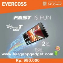 Evercoss R40A Winner T Ultra - 2GB RAM, 16GB ROM, Quad Core