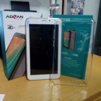 tablet advan vandroid i7a ram 1gb| internal 8gb| garansi resmi 1 tahun| ready white and black| free case dan antigores