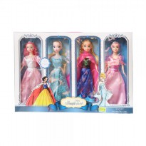Momo Boneka Putri - Princess Happy Beautiful Doll Pack- Ages 3+