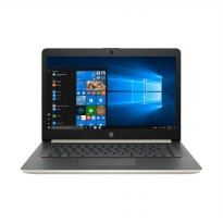 HP 14-CM0094AU Notebook - Gold [E2-9000e/ 4GB/ 1TB/ 14 Inch/ Win10]