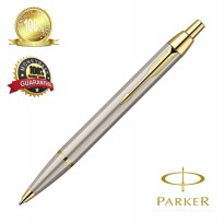 Parker I AM Deluxe Brush Stainless Steel GT Ball pen