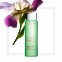 Clarins Toning Lotion With Iris Alcohol Free 100 Ml