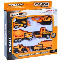 DIECAST CONSTRUCTION ISI 6 PCS