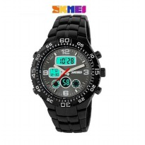 SKMEI LIBERTY Original Waterproof Anti Air Dual Time Zone Jam Tangan