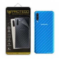 Back Protector Samsung Galaxy A50 Protego - Carbon Clear