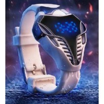 Jam Tangan Cobra Transformer LED Watch Robot New Style Digital Watch