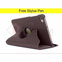 Rotating Leather Flip Case Cover - Huawei Mediapad T2 7.0 inch Tablet