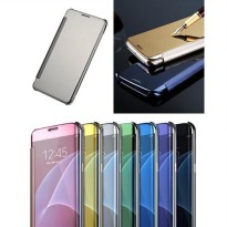 Flip Cover Mirror Samsung Galaxy A9 / A9 PRO 2016 Hard Flip Case Cover