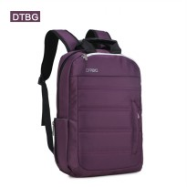 Original Digital Bodyguard DTBG Business Travel Backpack Laptop Bag S8252W 14.1 Inch Purple