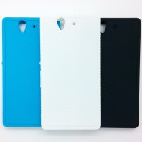 Xmart Softcase Sony Xperia Z L36h Silicone Cell Free Screen Guard