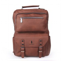 Polo Classic Backpack A3400-19 Brown