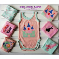 KAZEL O'NECK JUMPER BAYI MOTIF 6IN1 - PRINCESS EDITION