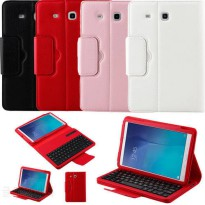 [globalbuy] Wireless Bluetooth Keyboard + PU Leather Stand Cover Case For Samsung GALAXY T/4946309
