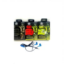 Headphone Adidas AD809 Headset Handsfree Earphone Murah