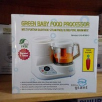 little giant  green baby food proccesor