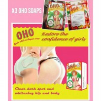 OHO SOAP GLUTA WHITE COLLAGEN SOAP SABUN PERAWATAN PEMUTIH KULIT BEST SELLER