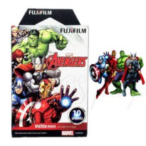 [globalbuy] Geniune Avengers Fujifilm Mini 8 Film 10 Sheets Fuji Instax Photo Paper For 8 /1551101